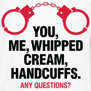 Whipped Cream And Handcuffs 2 (dd)++ T-shirts - Långärmad premium-T-shirt herr