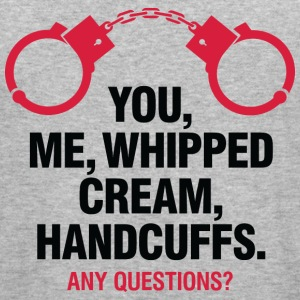 Whipped Cream And Handcuffs 2 (dd)++ Pullover - Männer Slim Fit T-Shirt