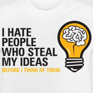 Steal My Ideas 2 (dd)++ Børne T-shirts - Baby T-shirt