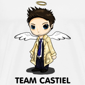 Team Castiel (light) Buttons - Men's Premium T-Shirt