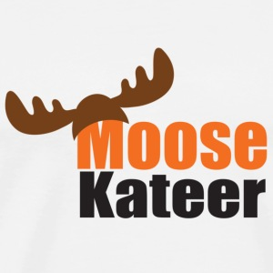 Moose-kateer (light) Buttons - Men's Premium T-Shirt
