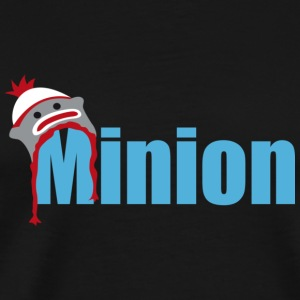 Minion (light blue) Bags  - Men's Premium T-Shirt