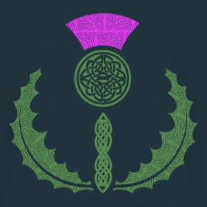 Celtic Knotwork Thistle - Men's T-Shirt