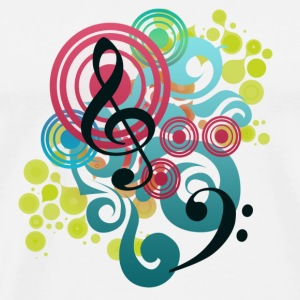Music Swirl mug - Men's Premium T-Shirt
