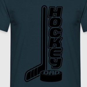 'Hockey Dad' Sweat-shirt hockey sur glace Homme - T-shirt Homme
