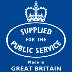 supplied for the public service WOB T-Shirts - Retro Bag