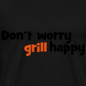 barbecue apron - Men's Premium T-Shirt