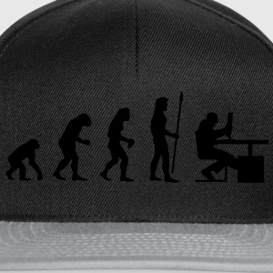 evolution_pc_2 T-shirts - Casquette snapback