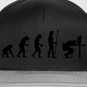 evolution_pc_4 T-shirts - Casquette snapback