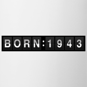 born1943 T-shirts - Tasse