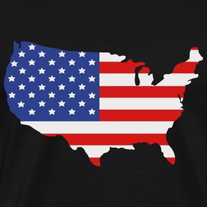 United States of America  Aprons - Men's Premium T-Shirt