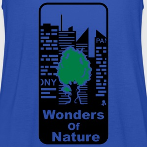 'Wonders of Nature' Damer T-shirt klassisk - Dame tanktop fra Bella