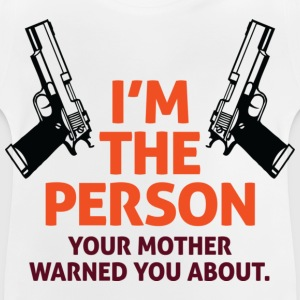Im The Person 2 (dd)++ Barn-T-shirts - Baby-T-shirt