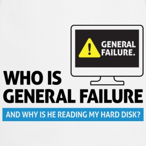 General Failure 2 (dd)++ T-shirts - Keukenschort