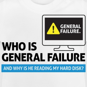 General Failure 2 (dd)++ Børne T-shirts - Baby T-shirt