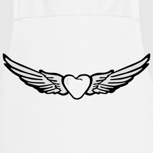 Heart Wing Angel T-Shirts - Cooking Apron