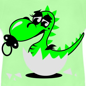 A small dragon baby with pacifier Bags  - Baby T-Shirt