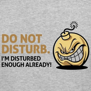 Do Not Disturb 2 (3c)++ Sweatshirts - Herre Slim Fit T-Shirt