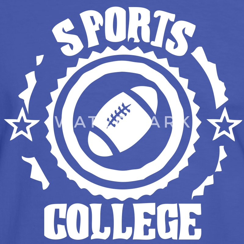 sports college football americain T-shirts - T-shirt contraste Homme