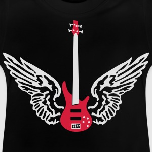bass_guitar_072011_b_2c Kids' Shirts - Baby T-Shirt
