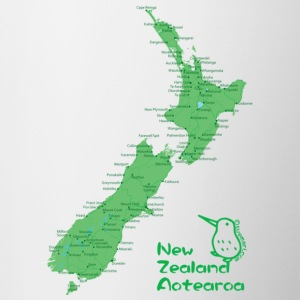 New Zealand's Map Hoodies & Sweatshirts - Mug