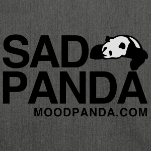 Sad Panda - Men's Hoodie - Shoulder Bag made from recycled material