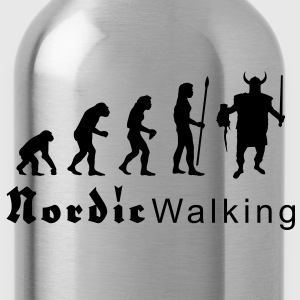 evolution_nordicwalking1 T-shirts - Drikkeflaske