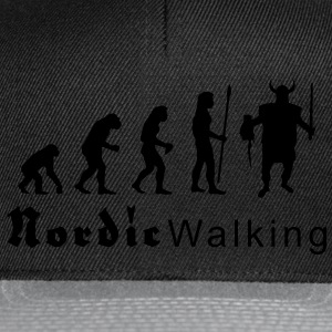evolution_nordicwalking1 T-shirts - Snapback Cap