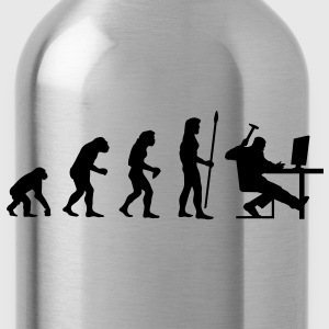 evolution_pc_1 T-Shirts - Water Bottle