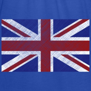 Grunge Union Jack Flag of Great Britain & Northern Ireland - Women's Tank Top by Bella