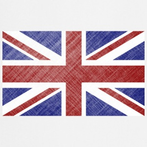 Grunge Union Jack Flag of Great Britain & Northern Ireland - Cooking Apron