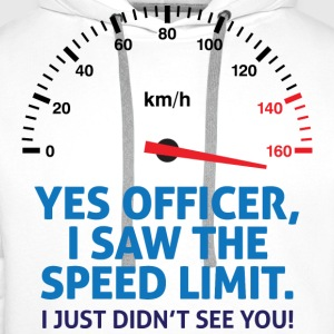 Speed Limit 2 (dd)++ T-shirts - Mannen Premium hoodie