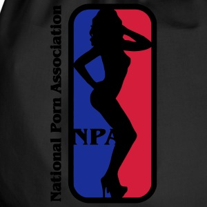 NBA? No NPA - National Association Porn Porn Star T-Shirts - Drawstring Bag