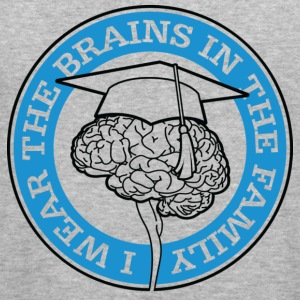 Wear The Brains 1 (dd)++ Tröjor - Slim Fit T-shirt herr