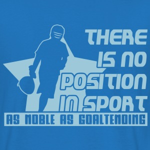 No Position in Sport (lax) Bags  - Men's T-Shirt