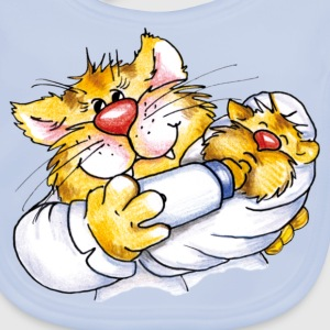 Nurse Kitty Kids' Shirts - Baby Organic Bib
