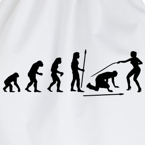 evolution_wedding3 T-Shirts - Turnbeutel