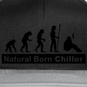 evolution_chiller2 T-shirts - Casquette snapback