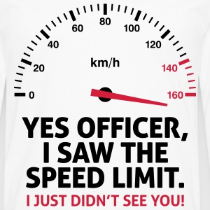 Speed Limit 2 (2c)++ T-shirts - Mannen Premium shirt met lange mouwen