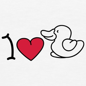 I love ducks Sous-vêtements - T-shirt Premium Homme