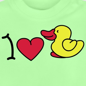 I love ducks Børne sweatshirts - Baby T-shirt