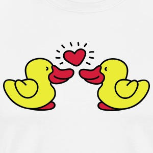 two lovin' ducks Tabliers - T-shirt Premium Homme