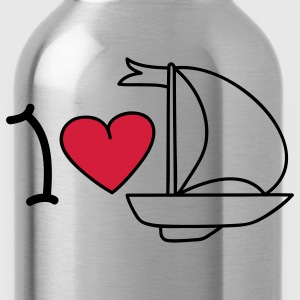 I love sailing Grembiuli - Borraccia