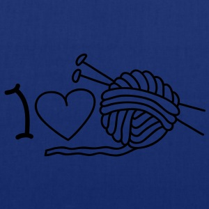 I love needlework Barn-T-shirts - Tygväska