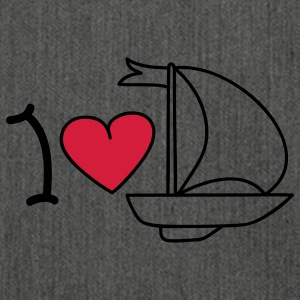 I love sailing Pullover - Borsa in materiale riciclato