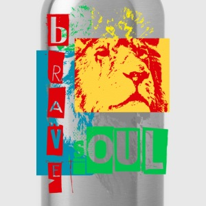 brave soul - Water Bottle