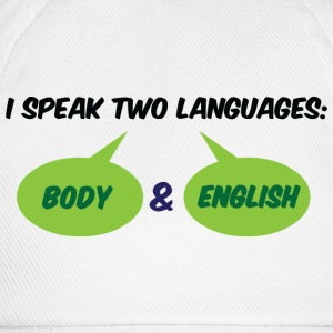 I Speak Two Languages 1 (dd)++ Camisetas - Gorra béisbol