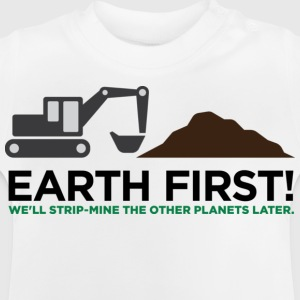 Earth First 2 (dd)++ Børne T-shirts - Baby T-shirt