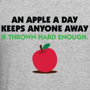 An Apple A Day 2 (dd)++ Hoodies & Sweatshirts - Men's Slim Fit T-Shirt