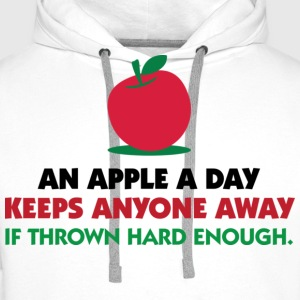 An Apple A Day 1 (dd)++ T-Shirts - Männer Premium Hoodie
